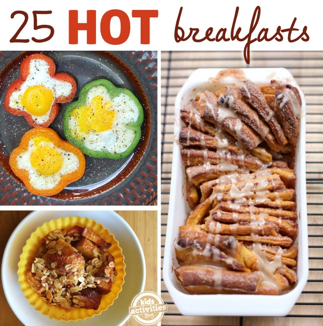 easy hot breakfasts for busy families