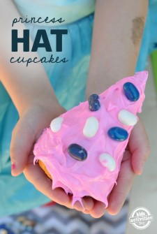 Princess Hat Cupcakes