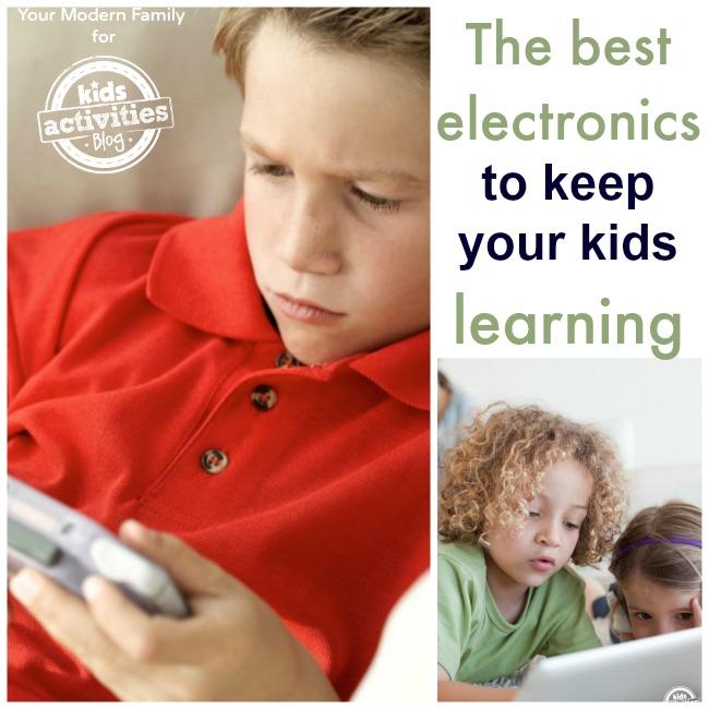 electronics for preschoolers