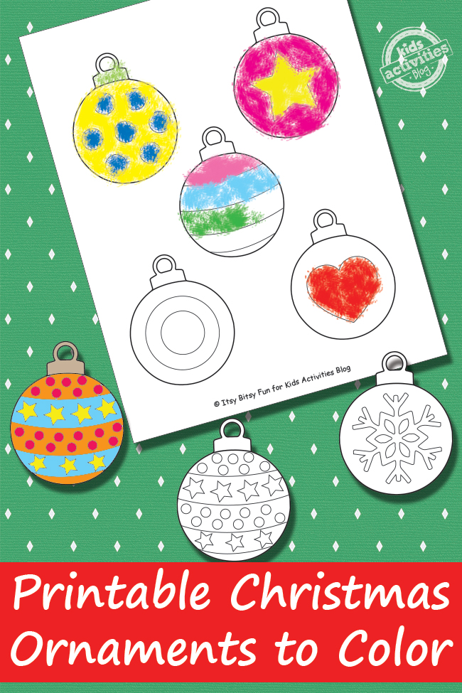 Eloquent image regarding christmas ornaments printable