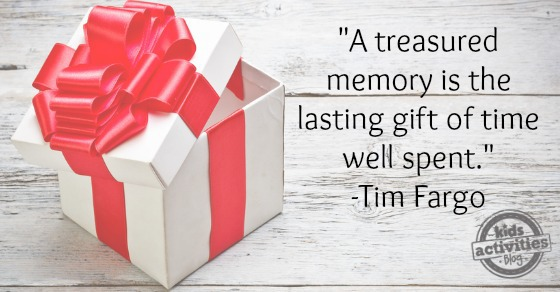 Give the Gift of Time this Christmas