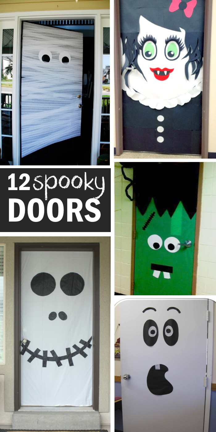 15 Fun Halloween Front Door Decorations You Can Do At Your ...