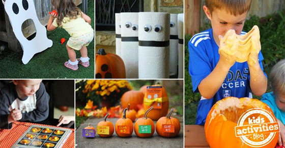 28 Fun Halloween Games For Kids