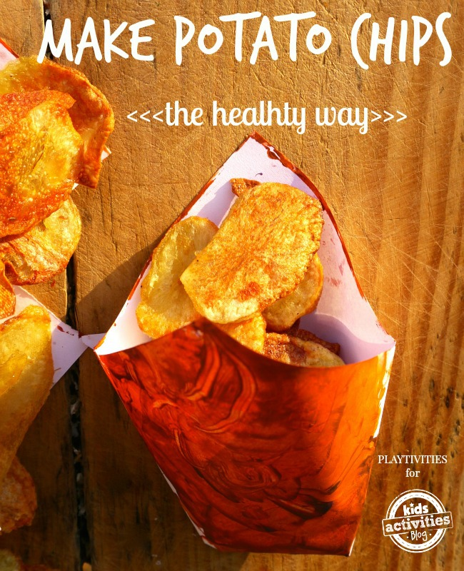 healthy potato chips