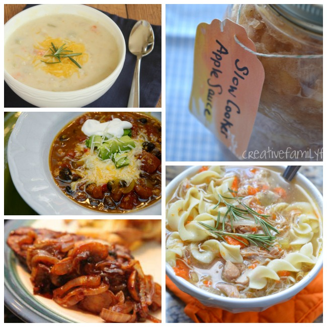 healthy slow cooker recipes meals