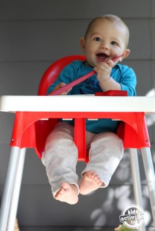 highchair play feature