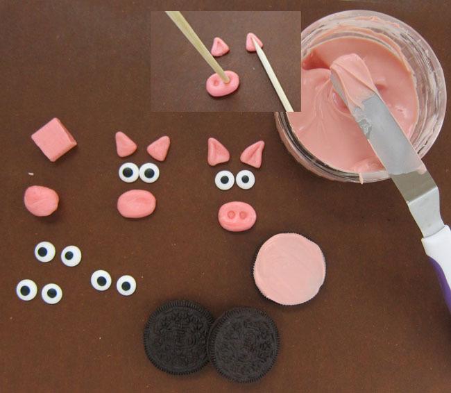 How to make Oreo Pigs