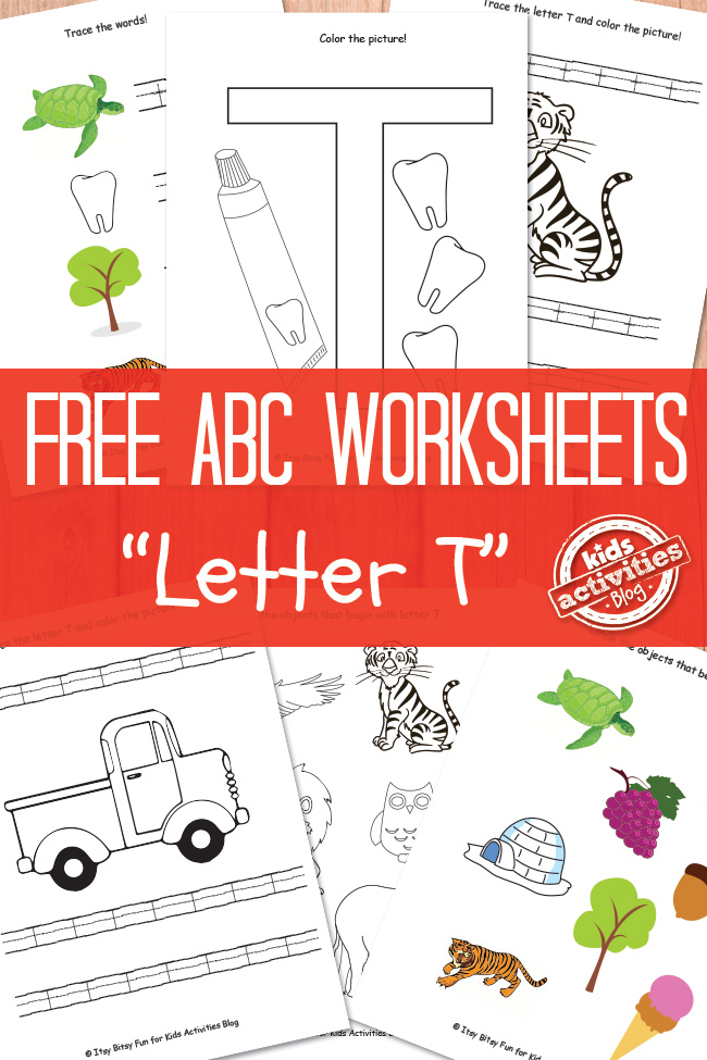 Letter T Worksheets Free Kids Printable – Letter T Worksheets