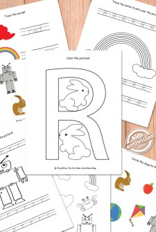Letter R Worksheets Free Kids Printable
