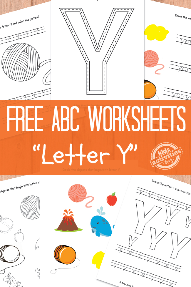 letter y worksheets free kids printable. Black Bedroom Furniture Sets. Home Design Ideas