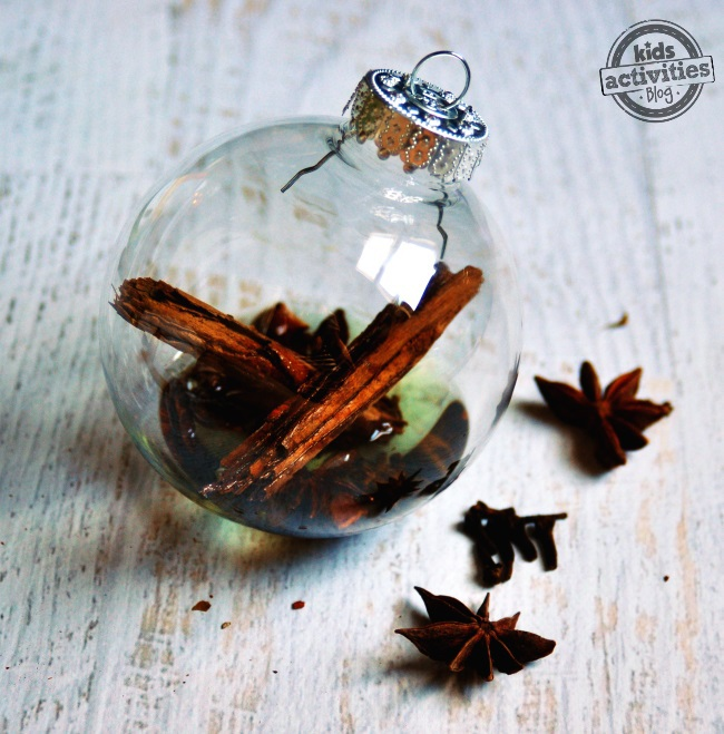 make a diffuser for holiday scents using oil spices and essential