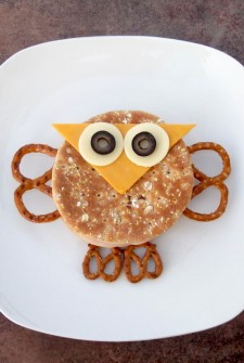 Make an Owl Sandwich