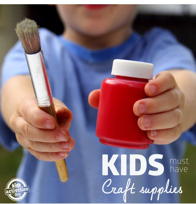 must have craft supply list for creative kids