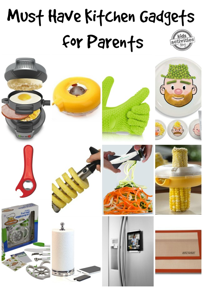 Must Have Kitchen Gadgets For Parents