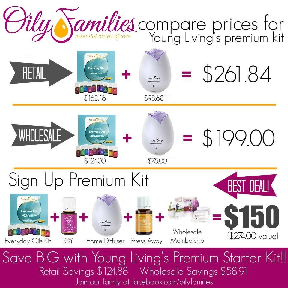 oily families young living graphic