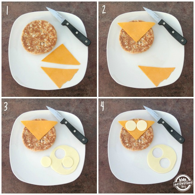 How to Make an Owl Sandwich, Step by Step