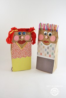 Classic Craft: Making Paper Bag Puppets