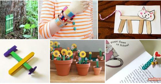 30 Children's Popsicle Stick Crafts