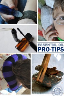 PRO-TIPS on how to thrive with essential oils includes diy hacks and ideas