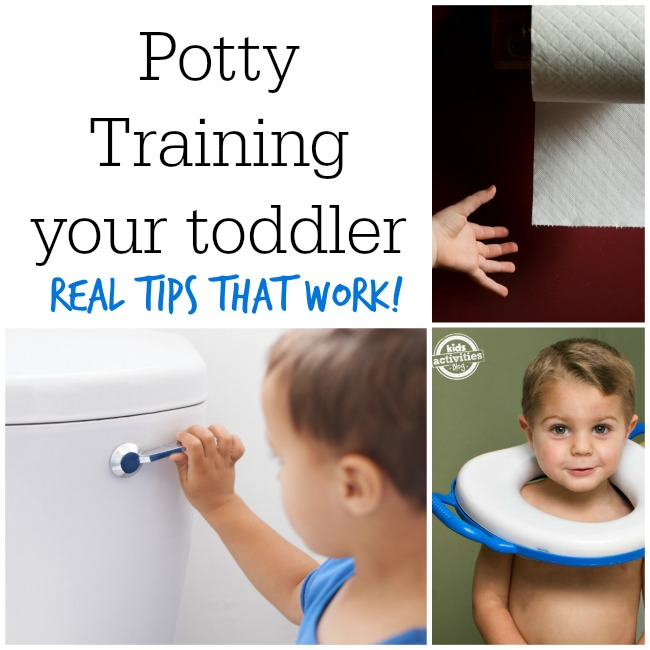 potty train a toddler - real tips that work