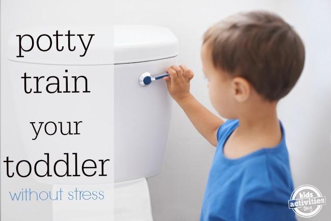 potty train without stress