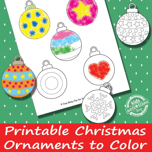 Printable Christmas Ornaments Free