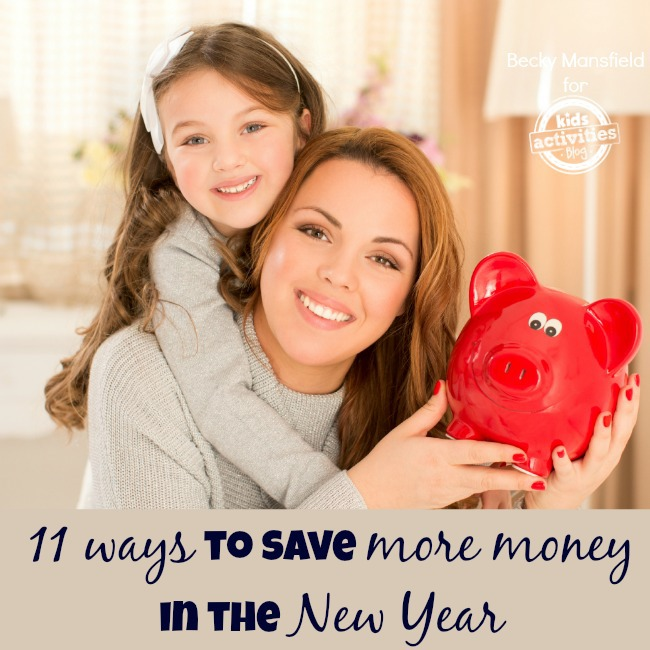 save more money in the New Year with these 11 tips