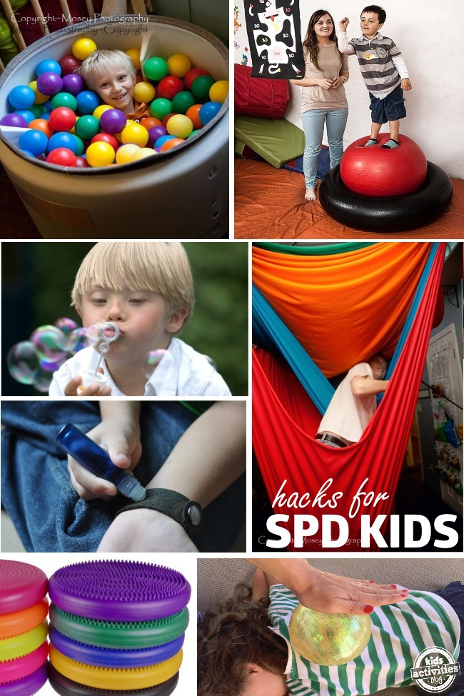 35 Sensory Aids And Ideas To Aid With Spd