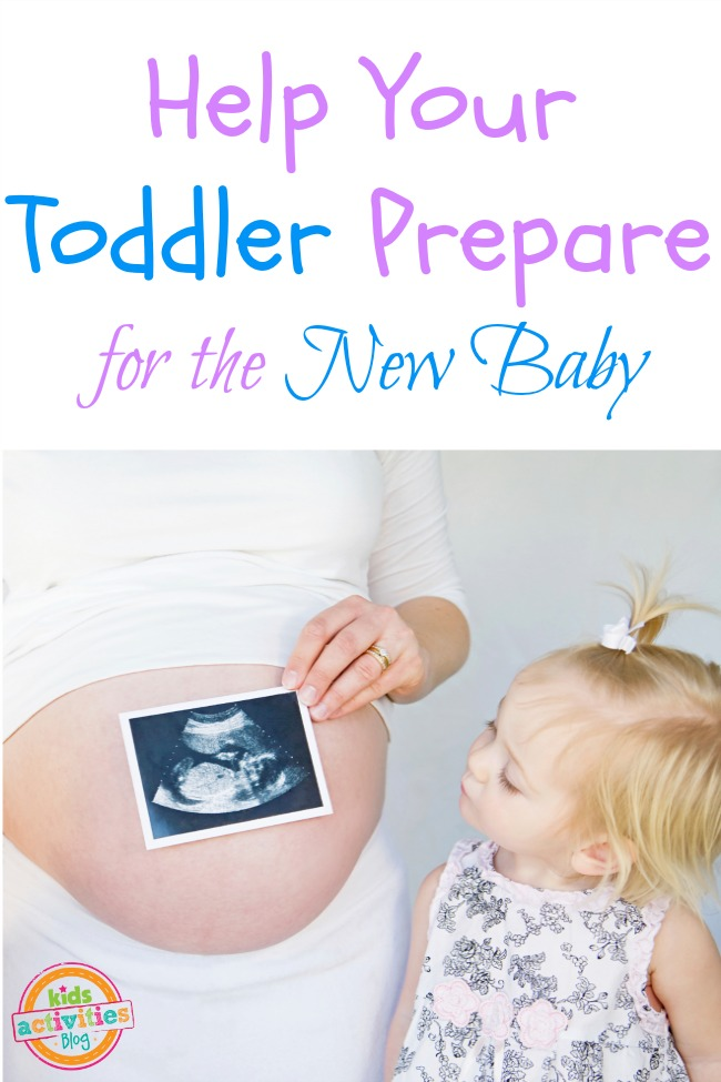 toddler prepare for the new baby