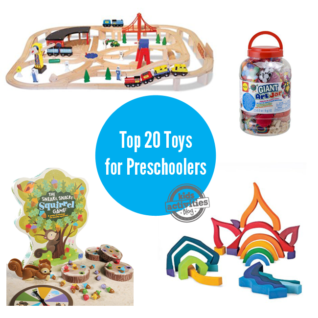 Great Toys For Preschoolers : Of the best gifts for preschoolers