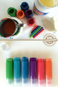 what you need to make your own lipstick from crayons a diy stocking stuffer idea