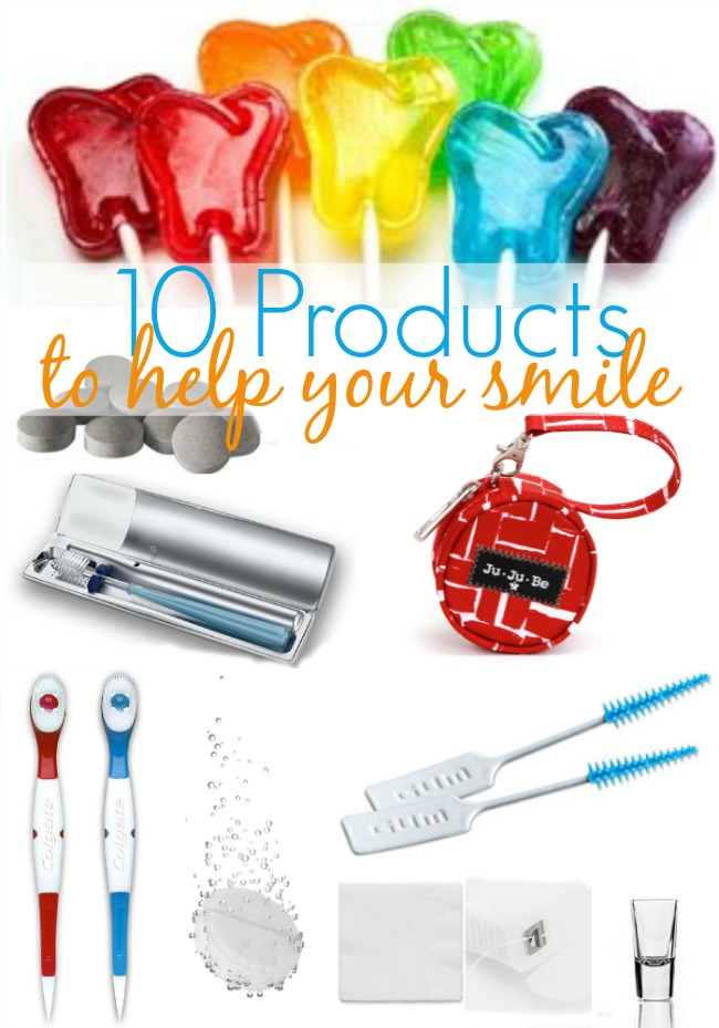 10 Products to help your smile