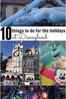 10 Things to Do At Disneyland During The Holidays