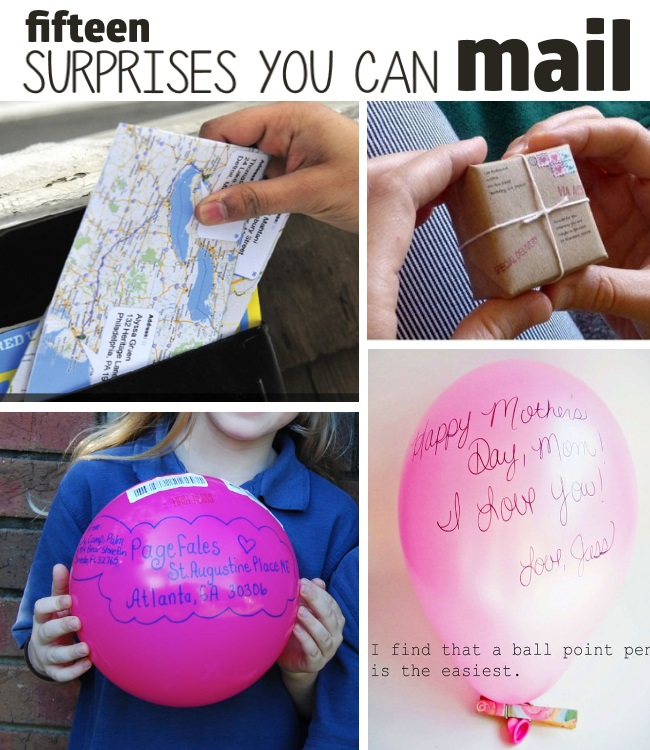15 crazy things to send and recieve in the mail