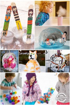23 Ice Crafts, Activities & DIY Decorations For Winter Fun. Cool!