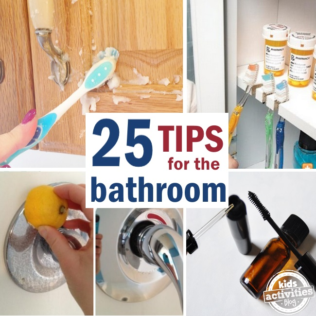 25 bathroom pro tips and tricks to make the most of your space