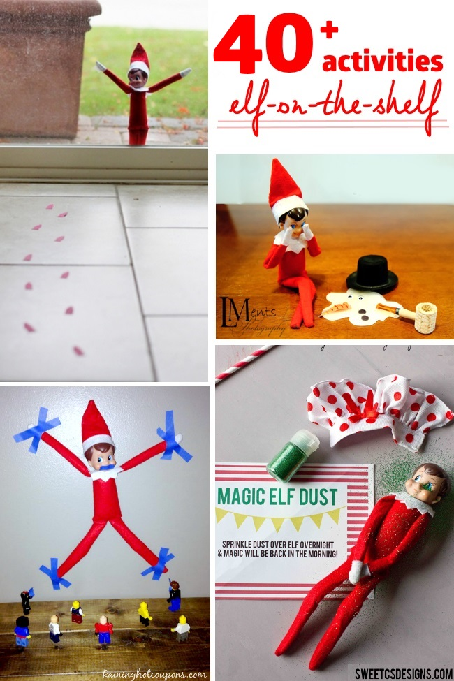 Classroom Elf Ideas ~ Elf on the shelf ideas