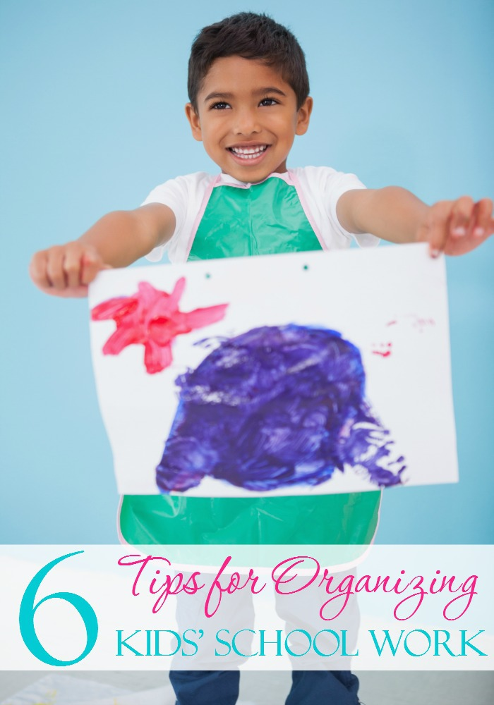 Kids bring home so many papers and assignments that it can often be a daunting task to try to wrangle them in, especially if you have more than one or two attending school. Here are some fantastic tips to get you organized!