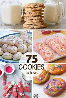 75 cookie recipes you will love