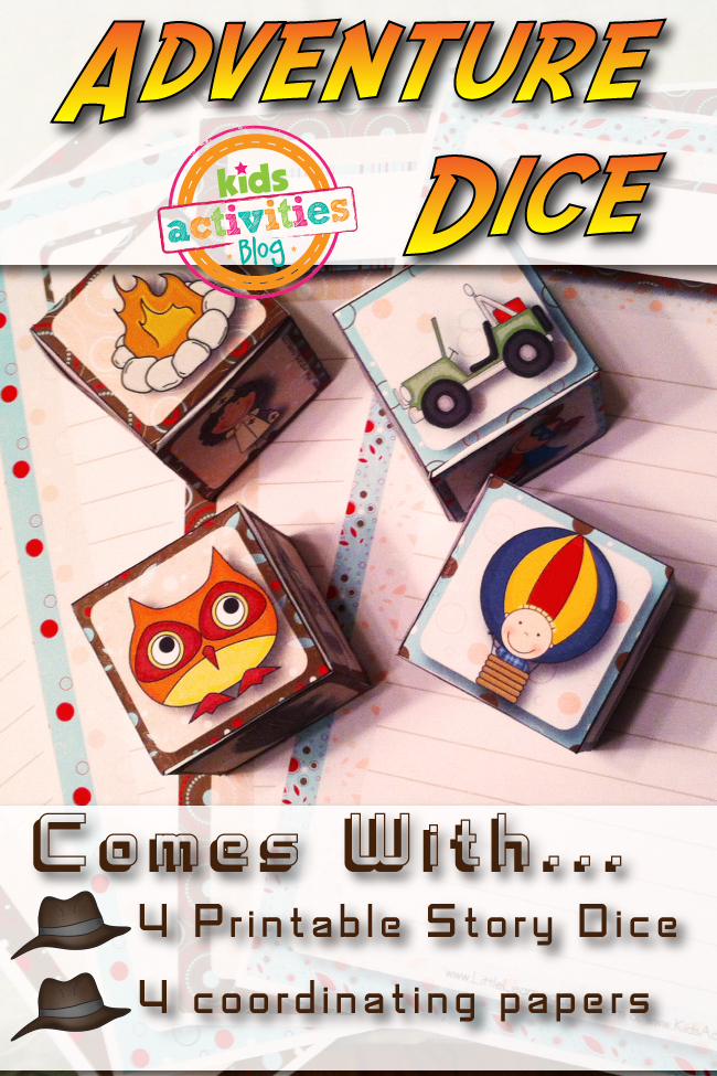 Free Printable Adventure Dice