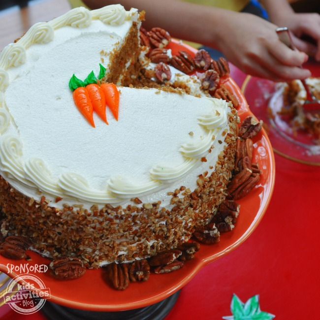 Carrot Cake from HoneyBaked Ham