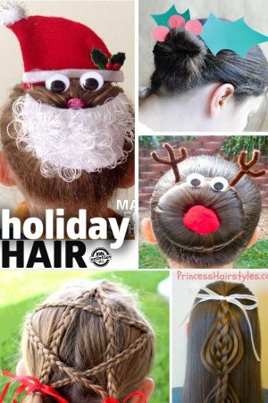 Christmas Hair for Kids feature