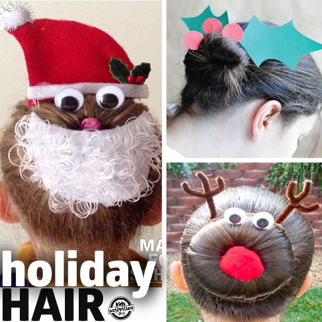 Christmas Hair for Kids