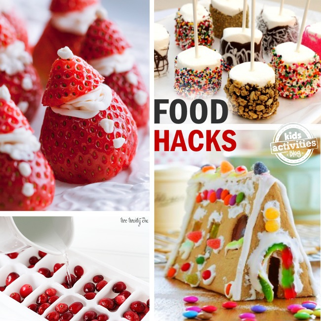 Christmas food hacks