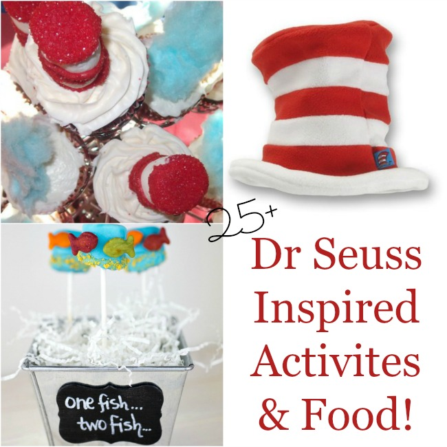 Dr Seuss inspired activities and food
