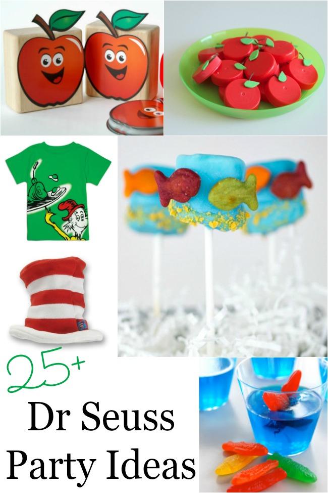 Dr Seuss party ideas