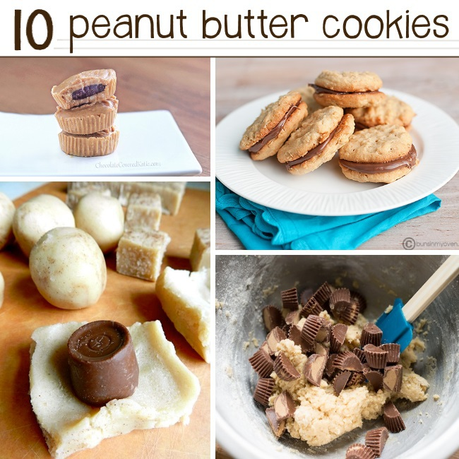 Easy Peanut Butter Cookie Recipes