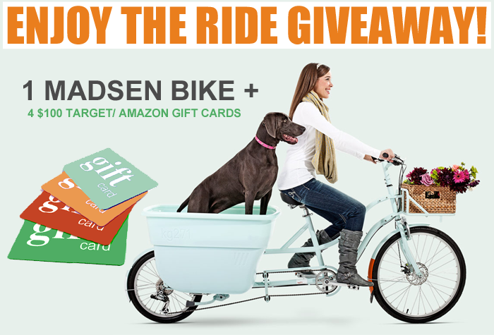 Enjoy the Ride Giveaway - Kids Activities Blog