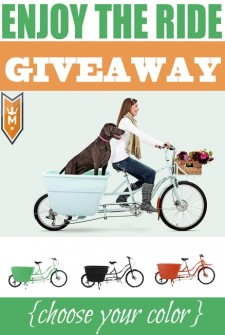 Enjoy the Ride Giveaway – worth $2300!
