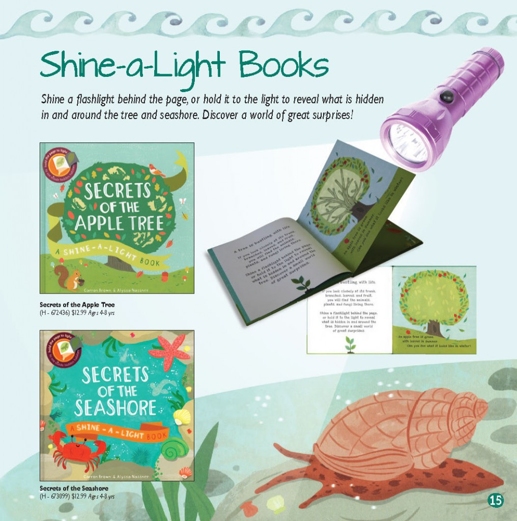 flashlight activity book
